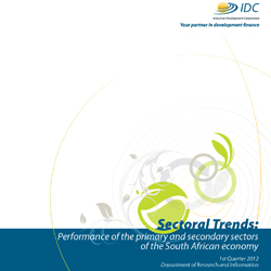 Sectoral Trends Q1-2012 Front Cover