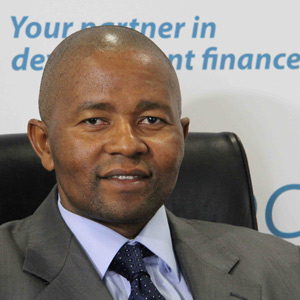 Chief Executive Officer Mvuleni Geoffrey Qhena