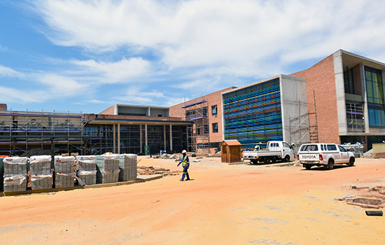 The hospital is expected to open in December 2016