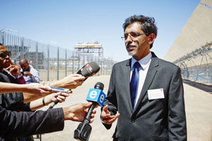Economic Development Minister Ebrahim Patel