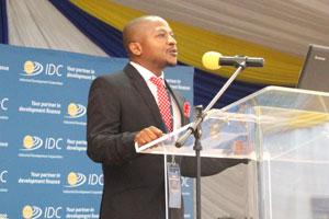 IDC Regional Manager Mr Kgampi Bapela