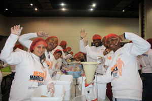 Packing highly nutritious meals to help end child hunger