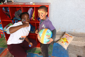 Bringing smiles to the faces of disadvantaged children