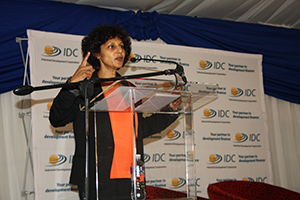 'The fact that the IDC chose to partner with us, a small company in a hard-core industry, has made a huge difference' - Quereshini Naidoo, a director at Hlakani Engineering. (Photo: Elias Nkabinde)