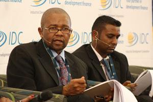 IDC CEO Mvuleni Geoffrey Qhena