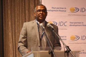 IDC Regional Manager KwaZulu-Natal Pat Moodley